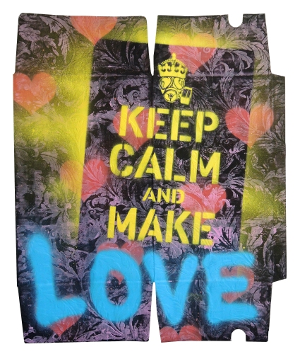 Keep Clam And Make Love 50 x 64